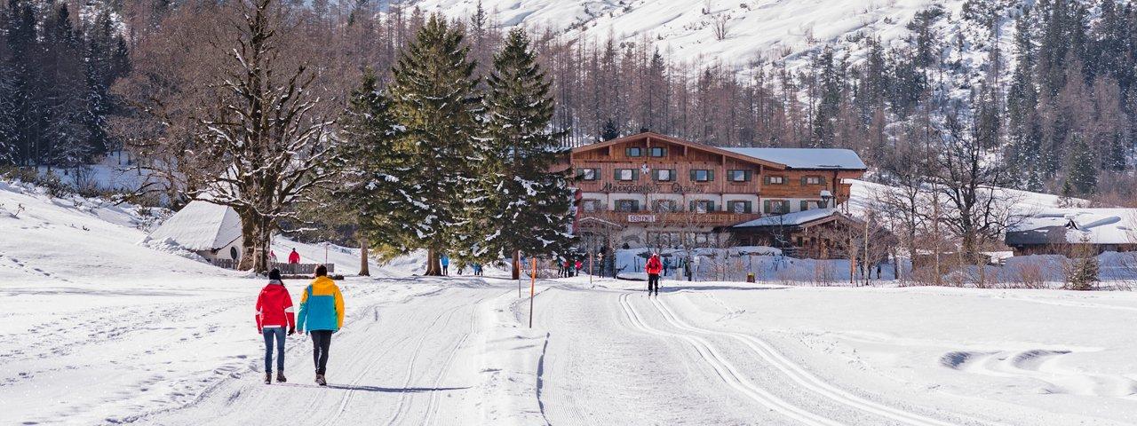 Randonnée hivernale de Falzthurnalm et Gramaialm, © Achensee Tourismus