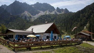 Voie de l'aigle étape 15 : L'alpage d'Eppzirler Alm, © Tirol Werbung / Kranebitter Klaus