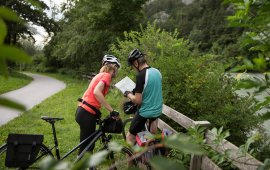 Piste cyclable de l'Inntal (Innradweg), © Tirol Werbung/Frank Bauer