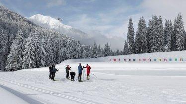 Installation de biathlon à Obertilliach, © Tirol Werbung/Bert Heinzlmeier