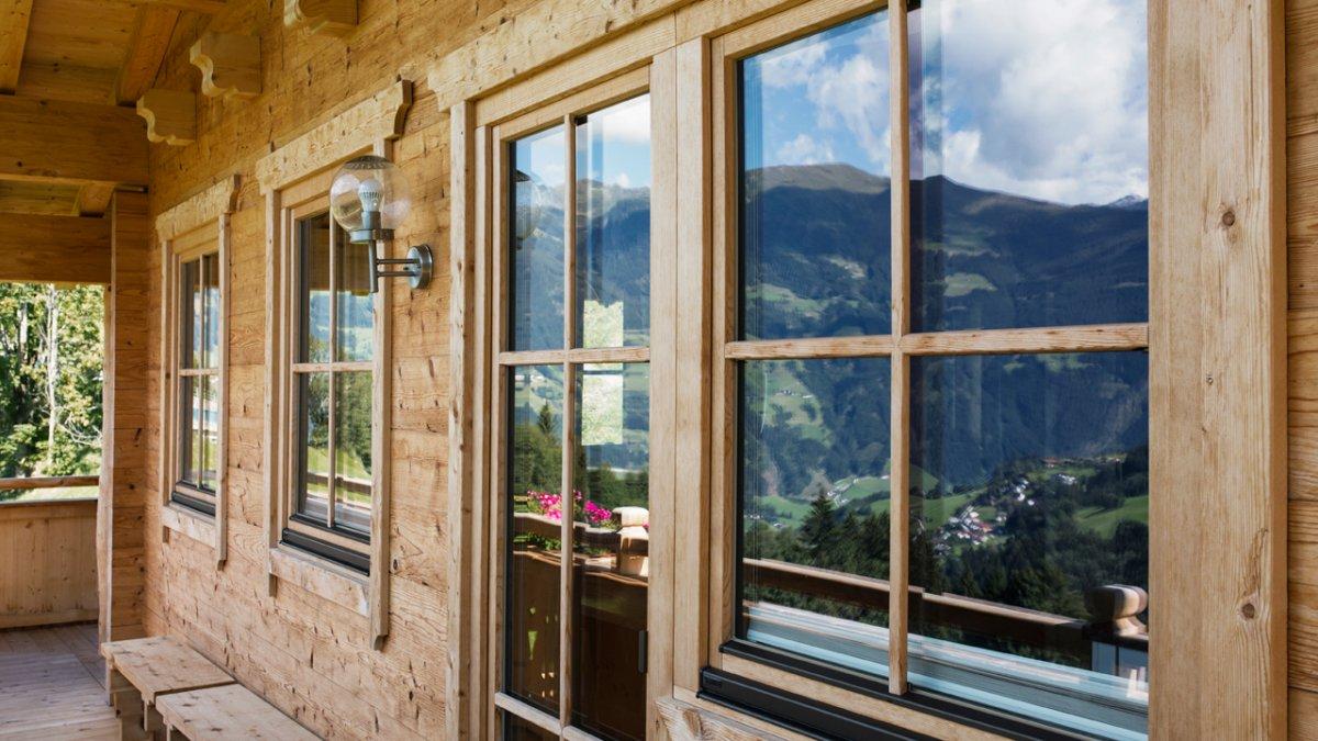 Style rustique, tout en bois, © Tirol Werbung/Lisa Hörterer