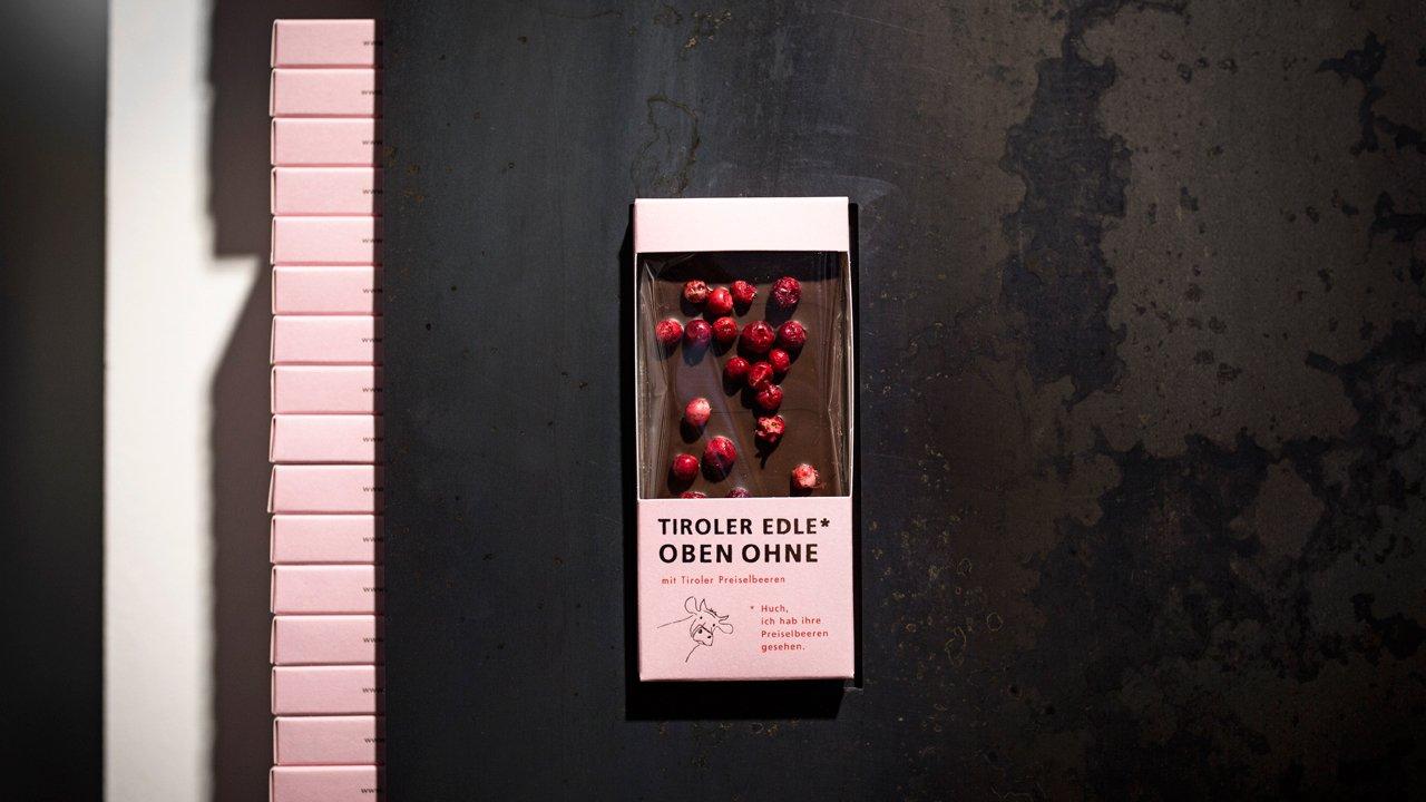 Le chocolat tyrolien Tiroler Edle, fabriqué à Landeck, © Tirol Werbung/Lisa Hörterer