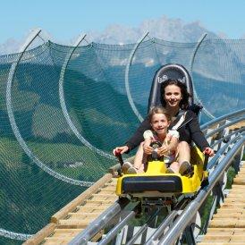 Le parcours de luge d'été Timoks Coaster, © Bergbahnen Fieberbrunn/Foto Niederwieser