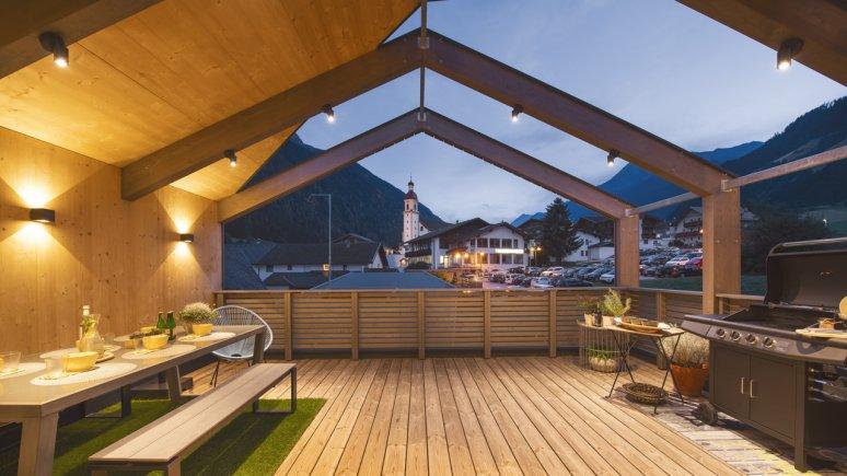 Maison de vacances au glacier de Stubai : Haus Dorf, extérieur, © Andre Schönherr