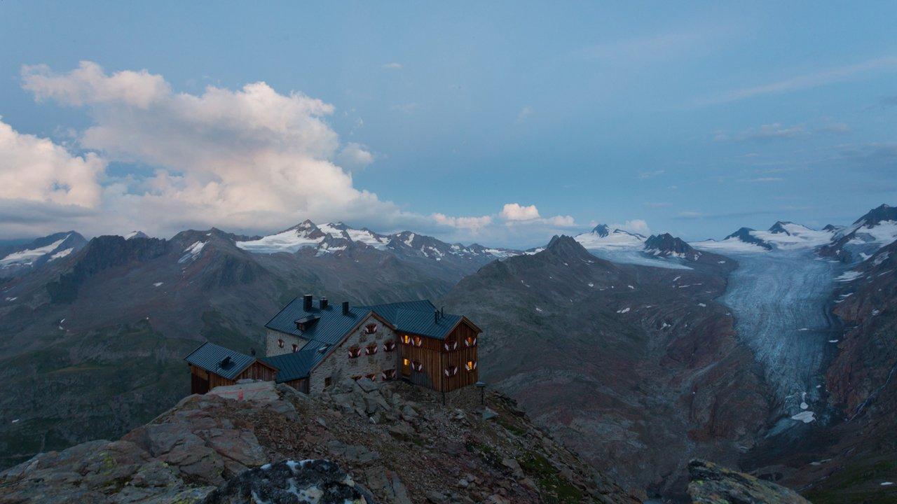 Le Ramolhaus dans les Alpes d'Ötztal, © Tirol Werbung/W9 STUDIOS