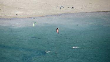 Le kitesurf au lac d'Achensee, © Achensee Tourismus