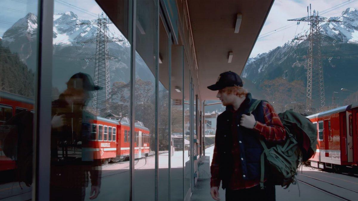 """Ed Sheeran pour le clip de """"Perfect"""""""