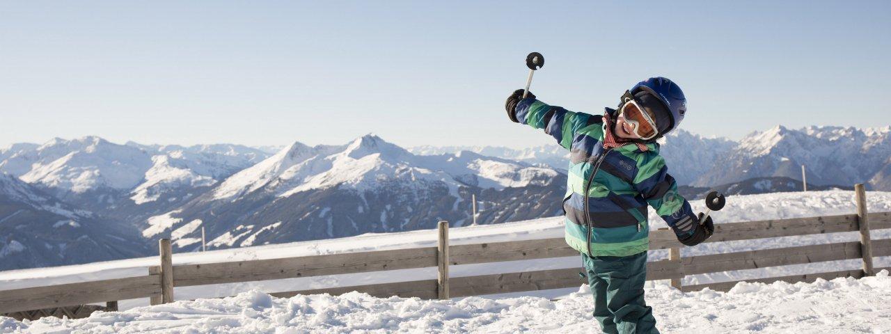 Faire du ski dans le domaine skiable Ski Juwel Alpbachtal, © Alpbachtal Tourismus